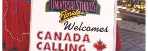 Broadcasting Live from Universal Studios Florida