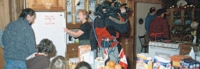 CTV\'s Canada AM broadcasting LIVE from Canada Calling\'s 50th Anniversary, Feb. 2003
